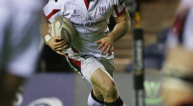 Captain's call: Darren Cave will skipper the Ulster side