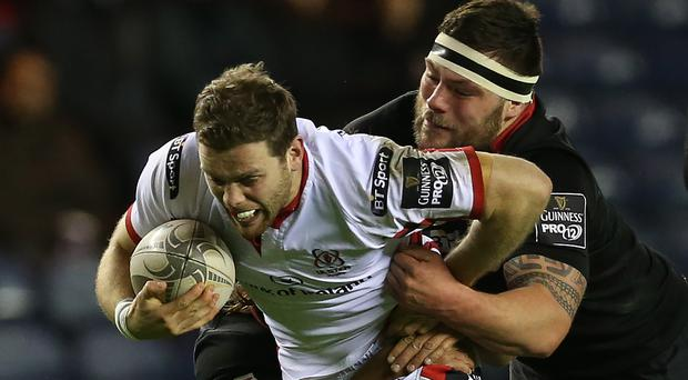 Try hard: Darren Cave has been in fine form this season with eight tries to date