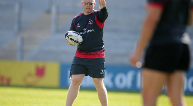Warning: Ulster coach Neil Doak looking for another improvement against Munster