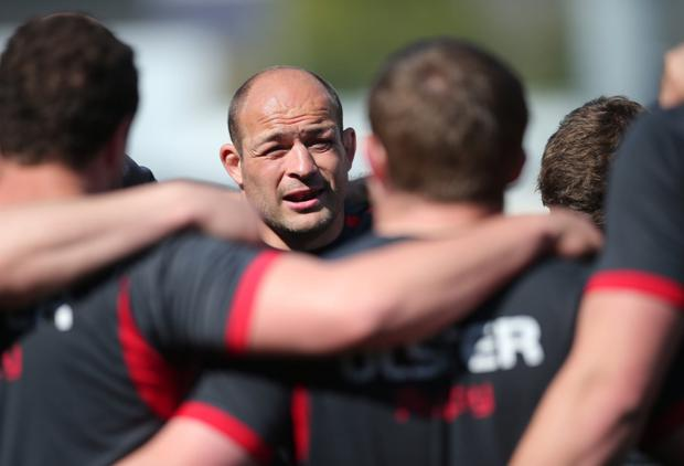Rallying cry: skipper Rory Best is urging Ulster to seize their big chance to end their nine-year trophy drought