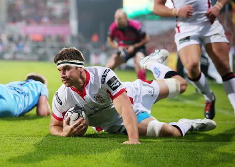 Away we go: Robbie Diack believes Ulster can go and get a positive result at Scotstoun