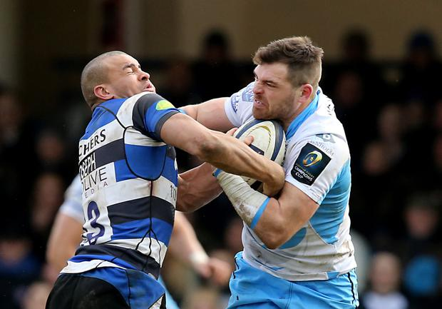 Power unit: Glasgow's wing Sean Lamont (right) returns to the side after recovering from injury