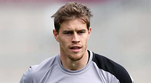 All in hand: Andrew Trimble will take his place for Ulster