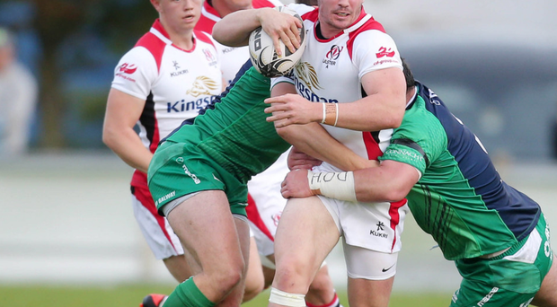 True grit: Sam Arnold is holding down his Ulster place
