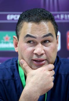Injury list: Connacht head coach Pat Lam