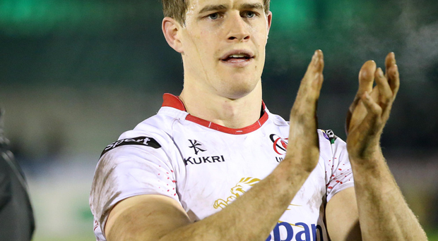 Joy: Andrew Trimble makes record 200th Ulster appearance against Munster