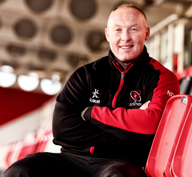 Ready: Neil Doak is hoping to get Ulster back on track
