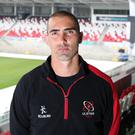 Raring to go: Ruan Pienaar is determined to finally get one over on Leinster away from the Kingspan Stadium and go on to fulfil his dream of lifting silverware with Ulster