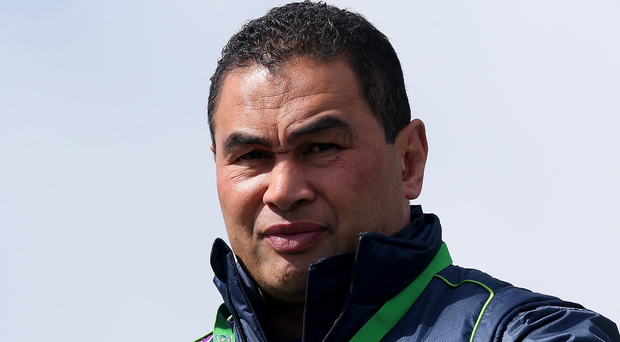 Making his point: Pat Lam has enjoyed great success with Connacht this season and has the chance to clinch PRO12 glory against rivals Leinster