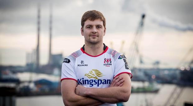 In talks: Iain Henderson has yet to agree on a new deal at Kingspan