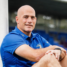 Good times: Backs coach Felipe Contepomi