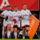Fronting up: Rob Herring leads out Ulster in South Africa