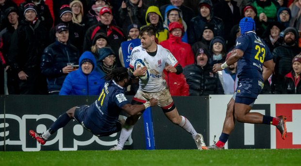 Centurion: Louis Ludik showed no signs of slowing down against Clermont