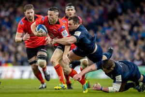 John Cooney is determined to one day wear the red of the British and Irish Lions.