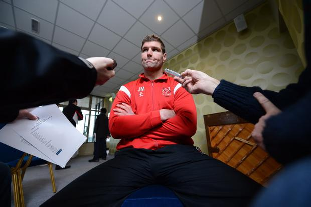 Johann Muller says he will be nervous on Friday night
