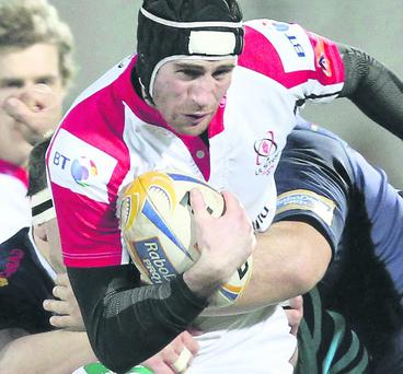 Ricky Andrew has impressed since making his first start for Ulster against Edinburgh in November