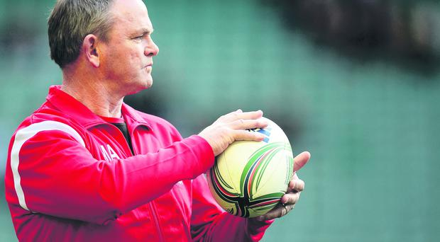Mark Anscombe is demanding a strong finish from Ulster