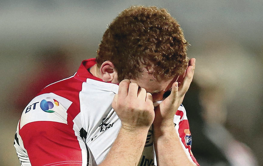 Vote of confidence: Paddy Jackson has received a boost from Rory Best after poor displays