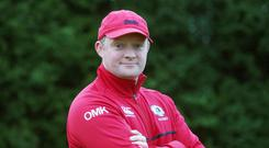 Clear focus: Ballyclare High School coach Mike McKeever won't go mad in search for a bonus