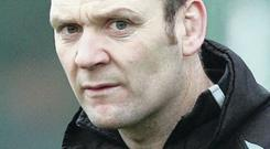 Portadown's manager Andrew Symington