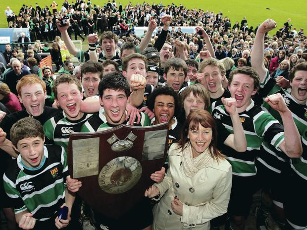 Many of the boys who tasted success for Sullivan Upper in the Medallion Shield Final back in 2011 are still involved in the squad that faces local rivals Bangor Grammar on Saturday