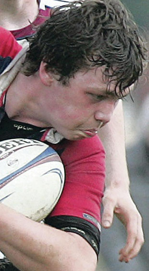 Star man: Duncan Maguire is the Ulster Schools' captain