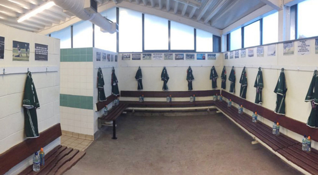 Unfortunate clash: The Friends' dressing room could well be empty this weekend when they should be playing a Schools' Cup quarter-final