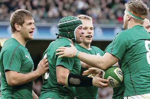 Chris Henry, Rory Best and Luke Marshall were a driving force in Ireland's win over Scotland