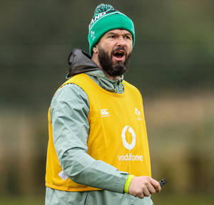 Andy Farrell will be preparing his team to face South Africa in Paris