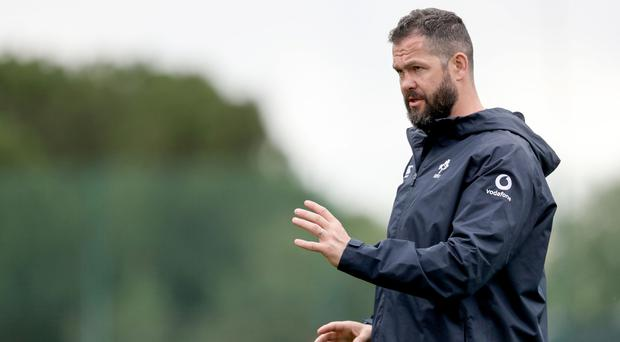 Big plan: Andy Farrell is trying to freshen things up while retaining experience