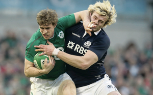 Andrew Trimble has shown that he deserves his place in the Ireland team alongside Brian O'Driscoll