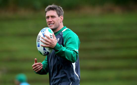 Ronan O'Gara looks to be facing the end of his Ireland career after being left out of the 32-man squad to face France on Saturday