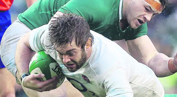 Cian Healy returns for Ireland after a successful appeak following a stamp on England's Dan Cole