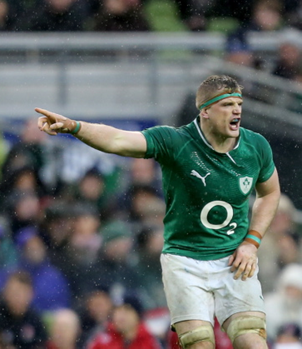 Jamie Heaslip insists he is relishing the captain's role and is playing well