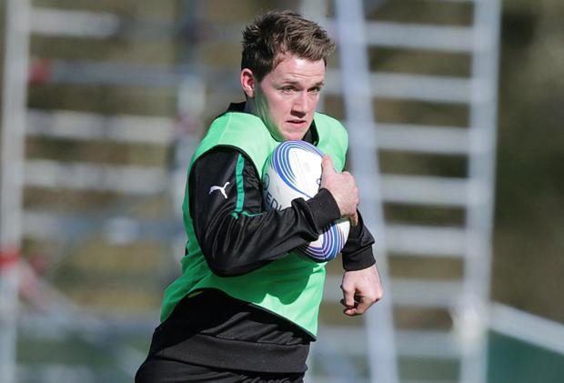 Craig Gilroy will return to the Ireland fold against Italy