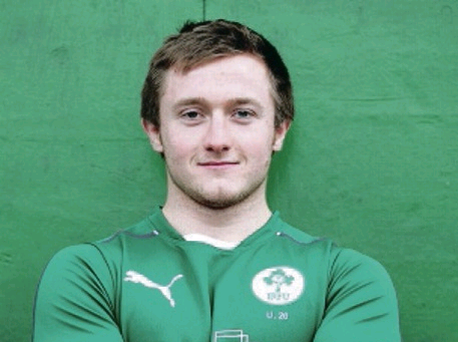 David Busby (Queens University RFC) pictured at the PWC Ireland U20s media day ahead of the U20 RBS 6 Nations Championship