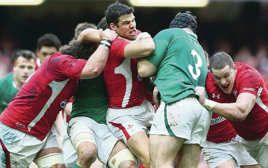 When Celtic cousins Ireland and Wales collide there's no quarter asked or given