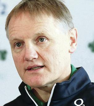 Coach's call: Joe Schmidt will be brutally honest with his players