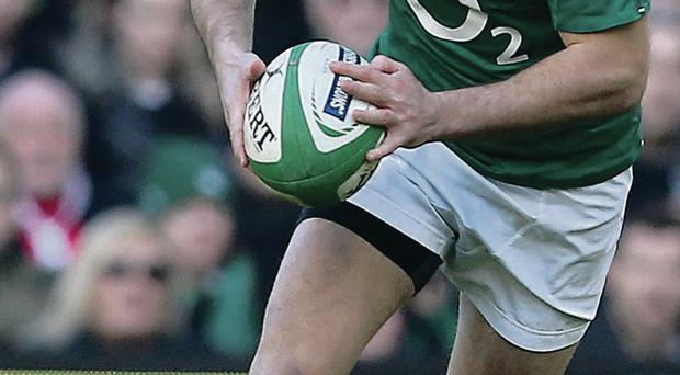 Getting his kicks: Jonny Sexton's form with the boot will once again be crucial for Ireland over the next two games