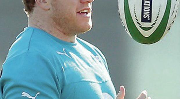 Praise: Sean Cronin has been left impressed by boss Joe Schmidt
