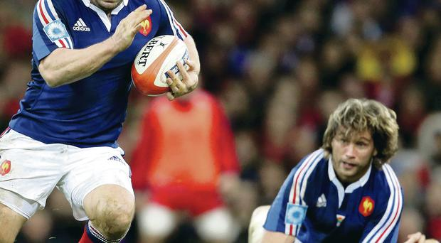 Nicolas Mas' battle with Cian Healy will be crucial to the outcome of tomorrow's game in Paris