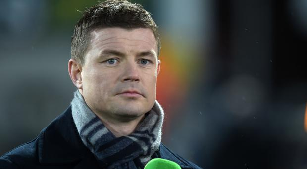 TV role: Brian O'Driscoll will work for ITV during World Cup