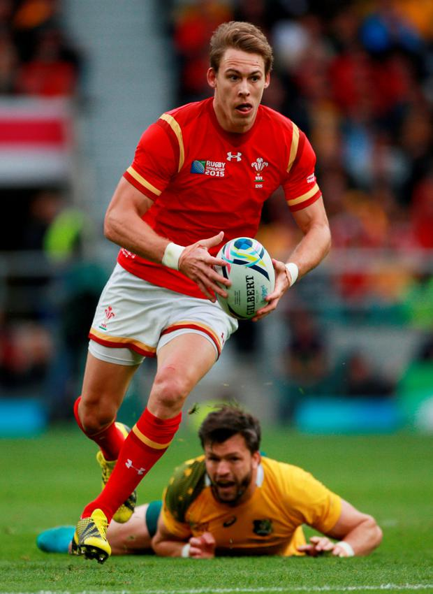In the frame: Liam Williams is likely to feature against Irish