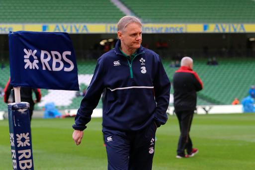 Shuffling his pack: Ireland coach Joe Schmidt is keeping his eye on walking wounded ahead of French showdown