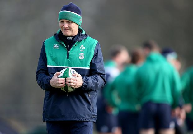 Irealnd head coach Joe Schmidt