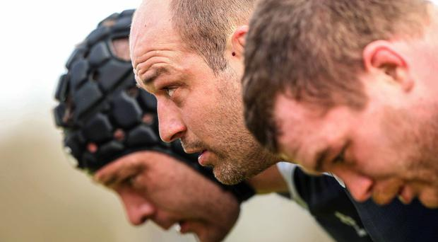Using his head: Rory Best is eyeing victory
