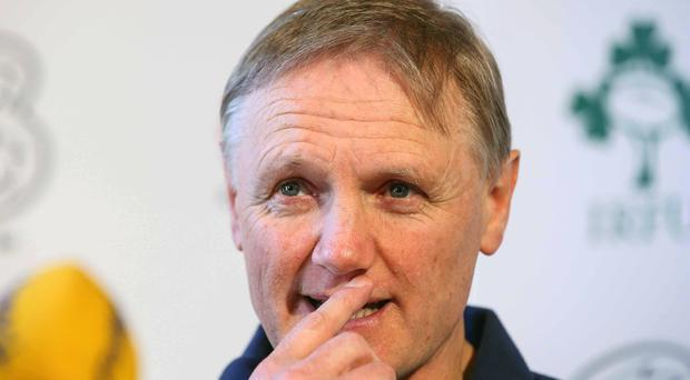 Big call: Joe Schmidt may be tempted by a new challenge