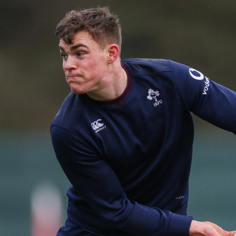 On the up: Garry Ringrose is ready for his Championship bow after a rapid rise through the ranks