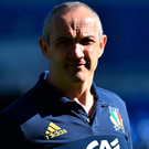 Big task: Conor O'Shea is sure he can transform the Italians