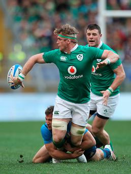 Options open: Jamie Heaslip could yet finish his distinguished career abroad